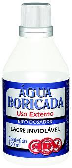 Água Boricada Adv 100ml