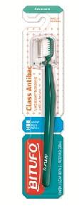 Escova Dental Bitufo Class Antibac Extra Macia Cabeça P Arredondada