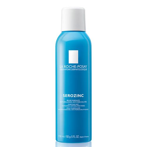 Serozinc La Roche-Posay Purificante Antioleosidade E Anti-Poros Dilatados Spray 150ml