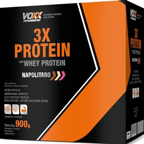 Voxx 3x Protein Sabor Napolitano 900g