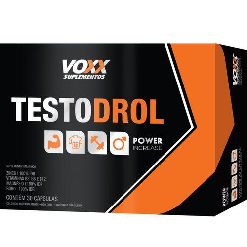 Voxx Testodrol Com 30 Cápsulas