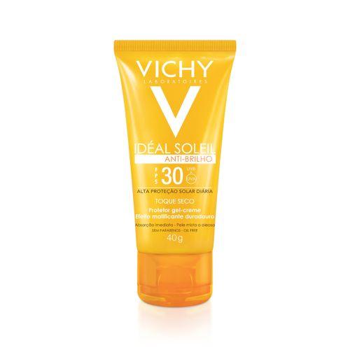 Protetor Solar Facial Vichy Ideal Soleil Toque Seco Fps30 40g