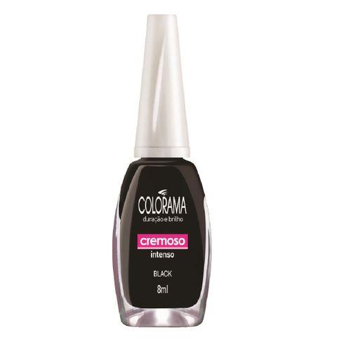 Esmalte Cremoso Colorama Black 8ml