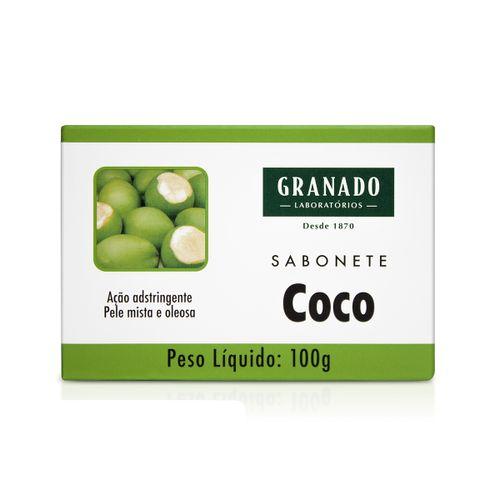 Sabonete em Barra Granado Tratamento Coco 100g