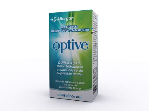 Optive Solução Esteril 10 Ml Novo