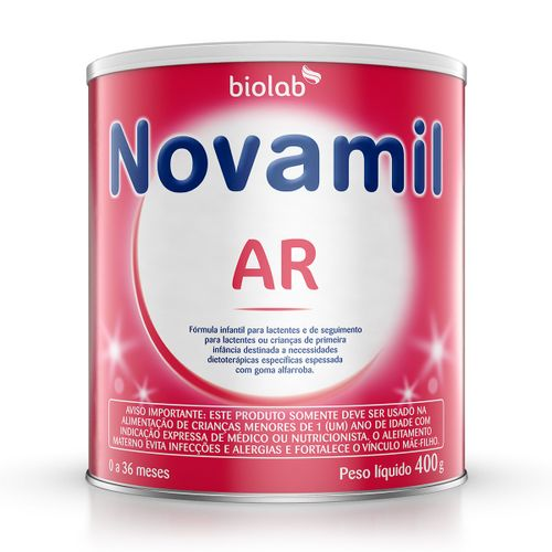 Fórmula Infantil Novamil Ar 400g