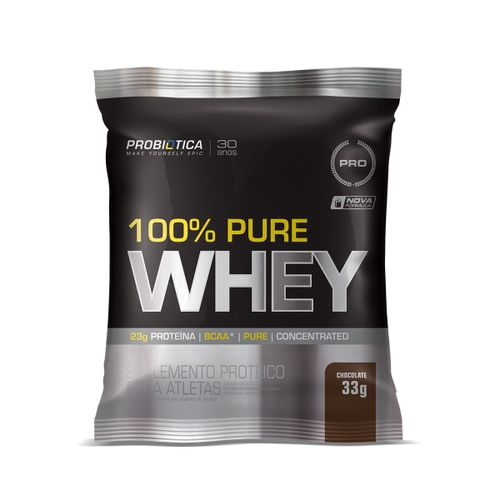 100% Pure Whey Probiotica Chocolate 33g