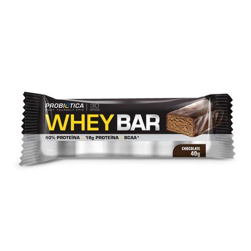 Whey Bar Probiotica Chocolate 40g