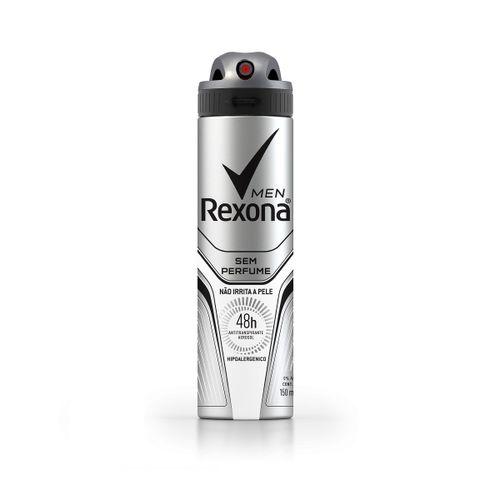 Desodorante Rexona Men Sem Perfume Aerosol 90g