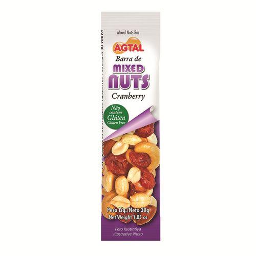 Barra Agtal Mixed Nuts Cranberry 30g