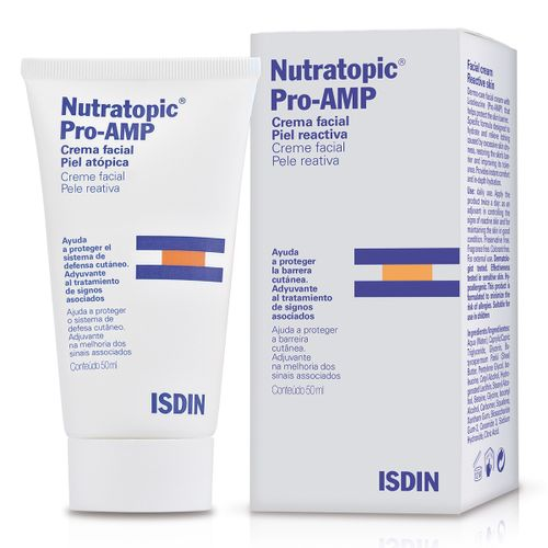 Nutratopic Pro-Amp Creme Facial 50ml Isdin