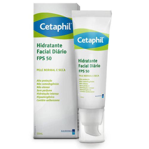 Cetaphil Hidratante Facial Diário Fps50 50ml