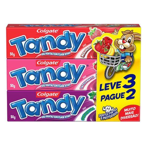 Creme Dental Infantil Colgate Tandy Gel 50g Promo Leve 3 Pague 2
