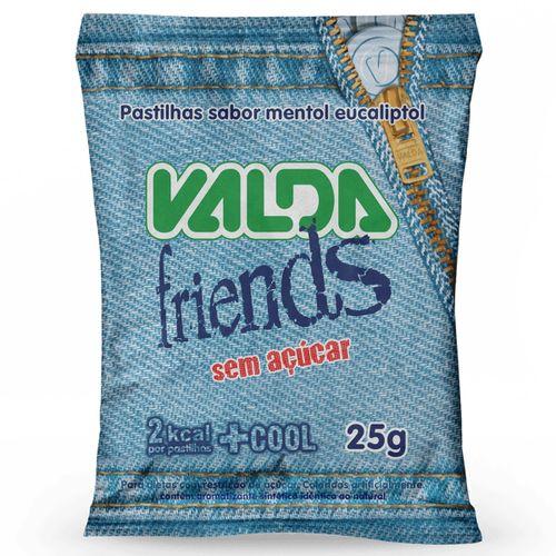 Pastilha Valda Friends, Sem Açúcar - 25g