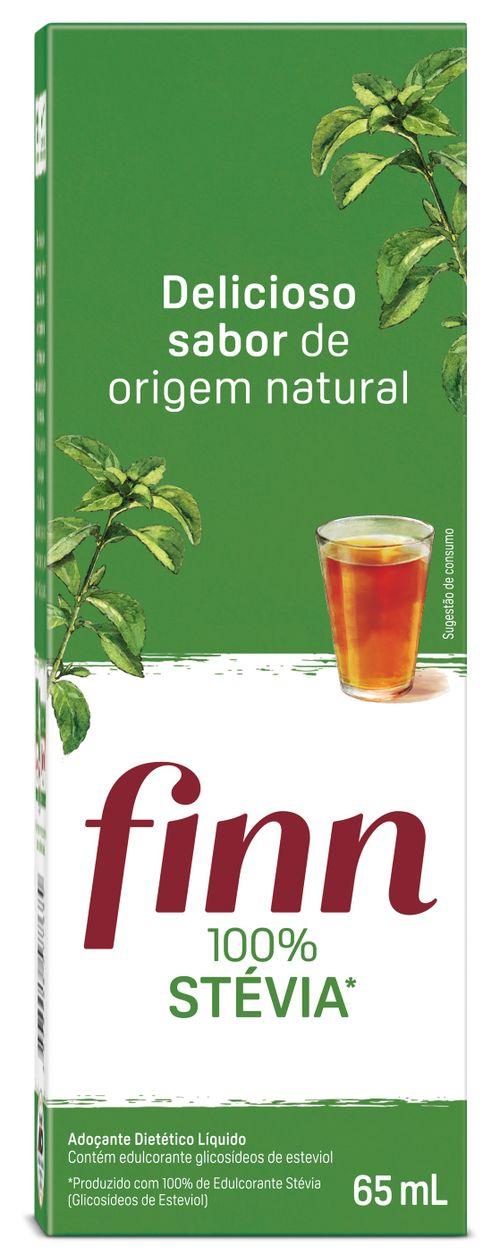 Adoçante Finn Stevia 100% 65ml