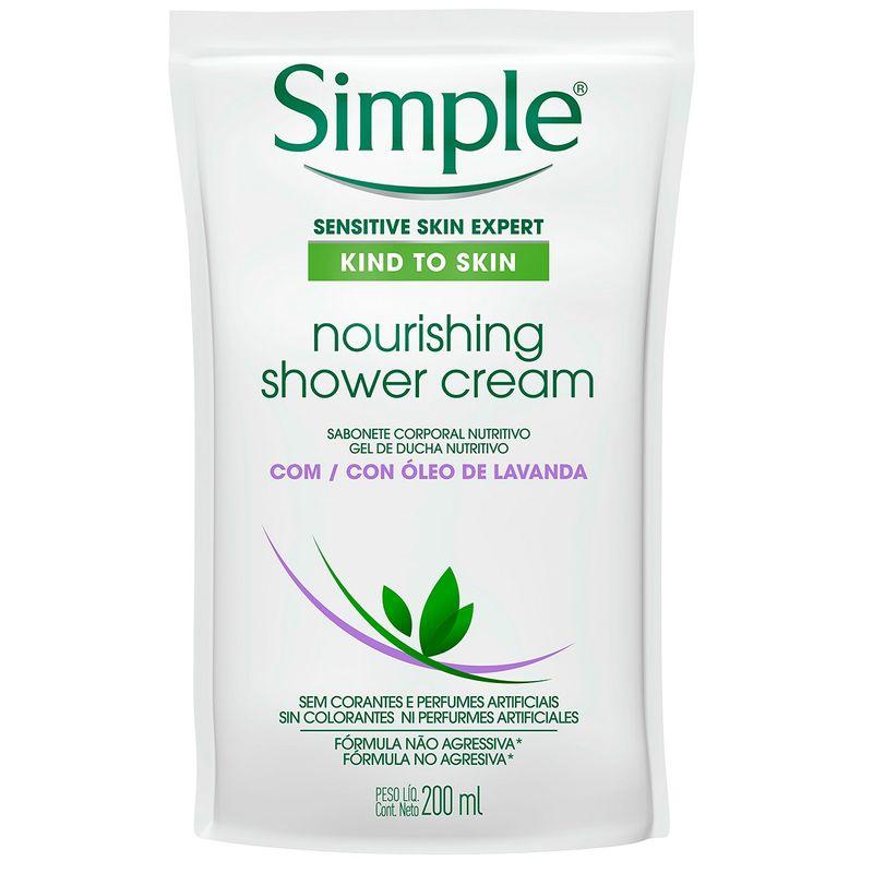 sabonete-liquido-corporal-simple-nourishing-shower-cream-com-oleo-de-lavanda-refil-200ml-principal