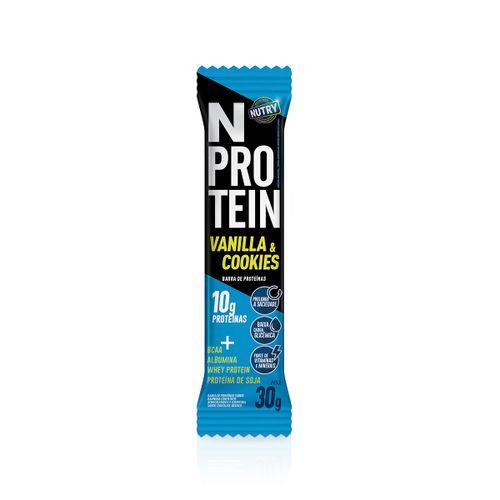 Barra Proteina Nprotein Vanilha & Cookies 30g