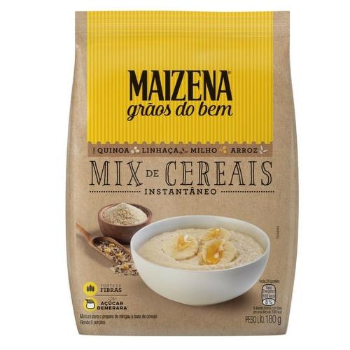 Mix de Cereais Instantâneo Maizena Grãos do Bem 180 g