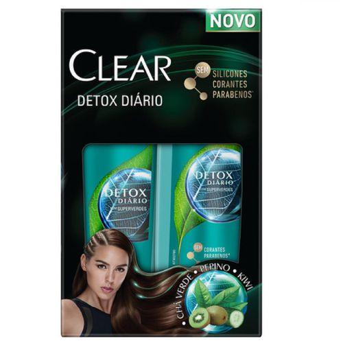 Shampoo+ Condicionador Clear Detox Diario 200ml Preço Especial
