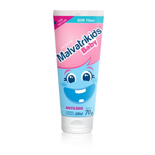 Creme Dental Malvatrikids Baby 70g