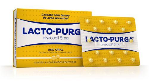 Lacto Purga Com 16 Comprimidos