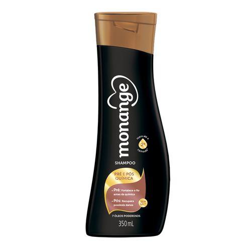 Shampoo Monange Pre E Pos Quimica 350ml