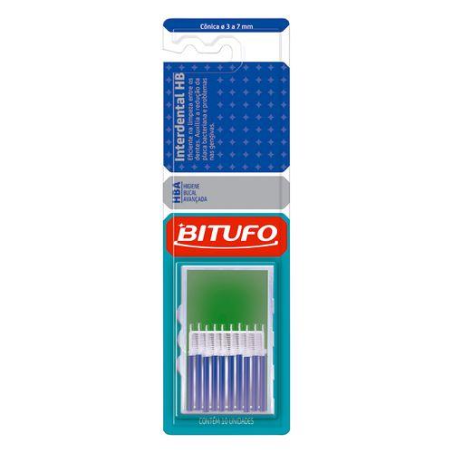 Escova Dental Bitufo Interdental Hb Cônica