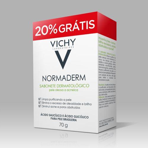 Normaderm Vichy Sabonete Facial 70g Com 20% De Desconto