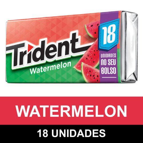 Goma De Mascar Trident Watermelon (18 Unidades) 30,6g