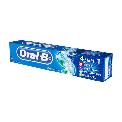 Creme Dental Oral B 4 Em 1 70g