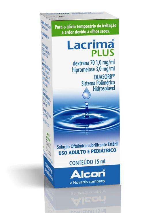 Lacrima Plus Solução Oftálmica 15ml