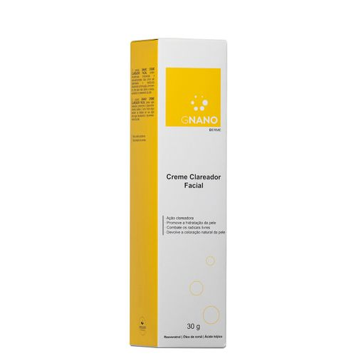 Gnano Clareador Facial 30g