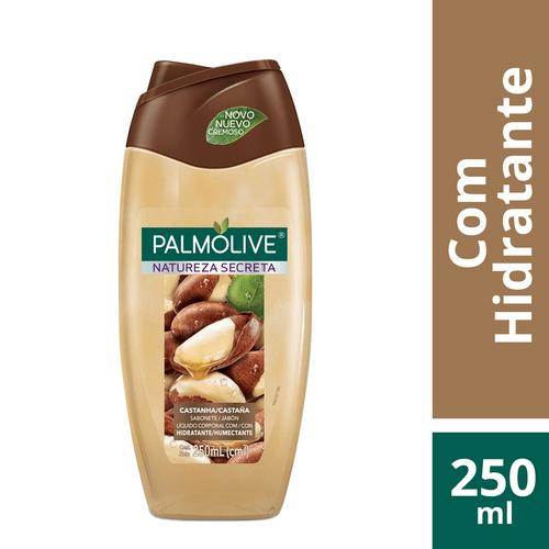 Sabonete Palmolive Natureza Secreta Castanha Liquido 250 Ml
