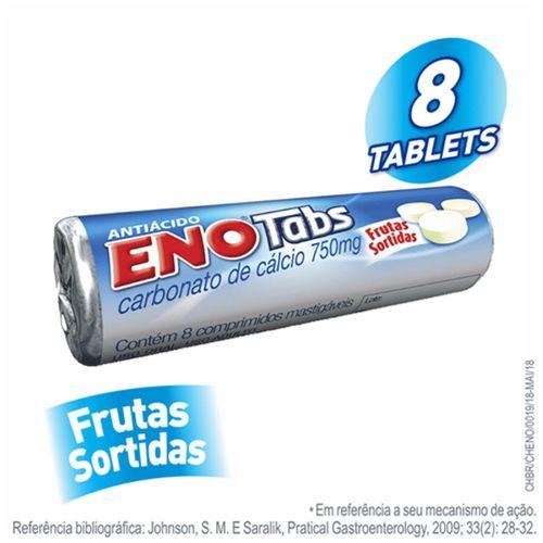 Sal De Fruta Eno Frutas Sortidas Tablete Com 8 Unidades