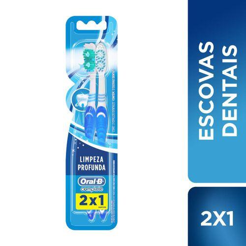 Escova Dental Oral-B Complete Limpeza Profunda 2 em 1