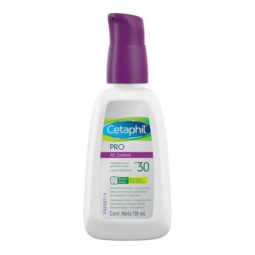 Cetaphil Pro Ac Control Loção Hidratante Facial Fps30 118ml