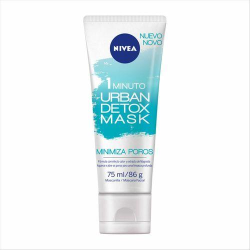 Mascara Facial Nivea Urban Detox Minimiza Poros 75ml