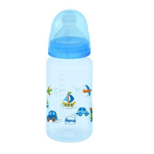 Mamadeira Fiona Ortodôntica Azul 300ml - 804721