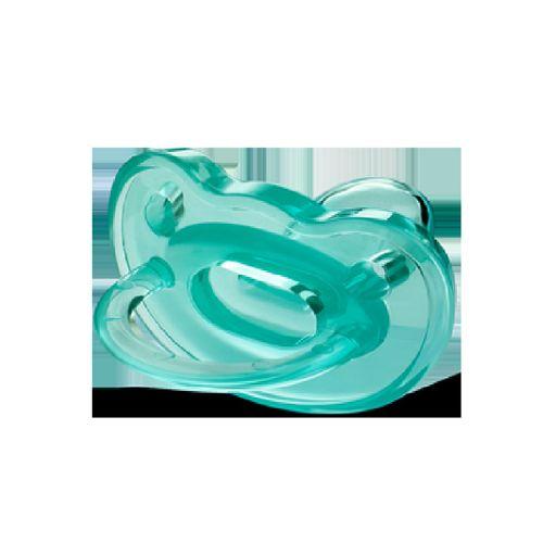 Chupeta Fiona Soft 100% Silicone Tamanho 2 Cor Azul