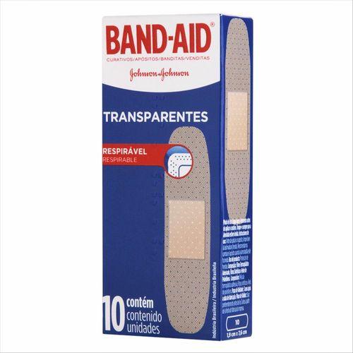 Curativos Band Aid Regular 10 Unidades