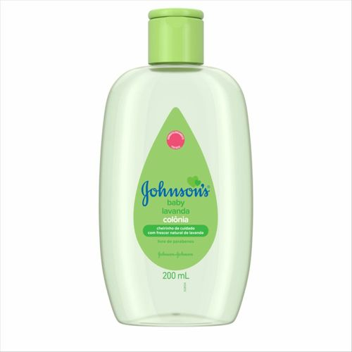 Colônia Johnsons Baby Lavanda 200 Ml
