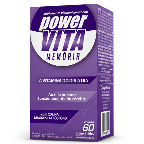Power Vita Memoria Com 60 Capsulas
