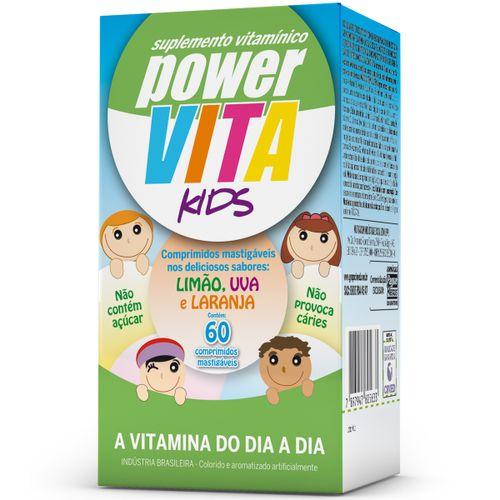 Power Vita Kids Com 60 Drágeas