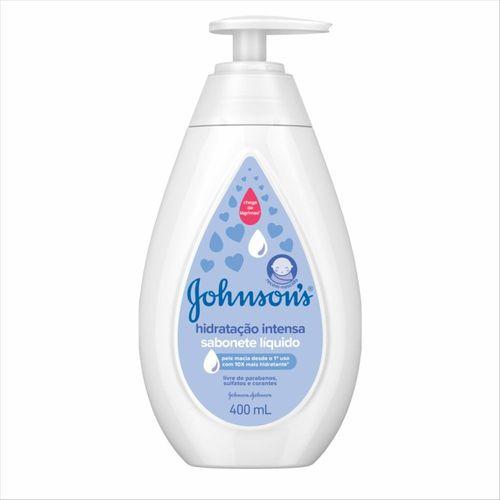 Sabonete Líquido Johnsons Baby Hidratação Intensa 400 Ml