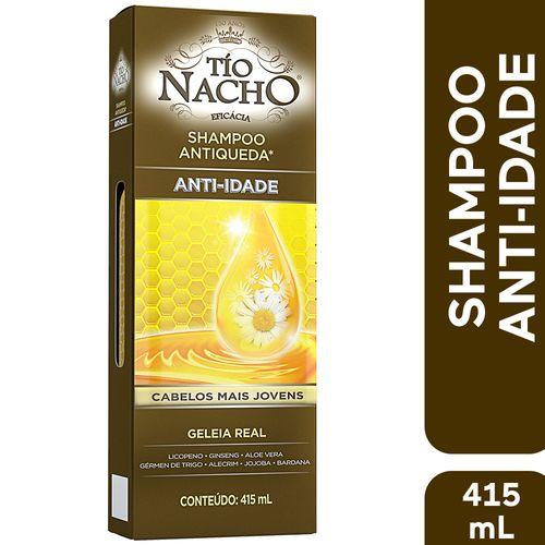 Shampoo Tio Nacho Antiqueda E Antidade 415ml