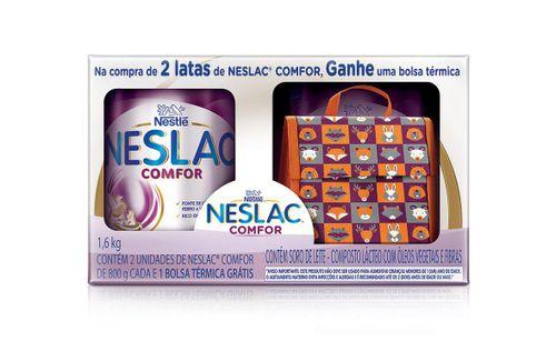 Kit Composto Lácteo Neslac Comfor - Bolsa Térmica 1,6kg