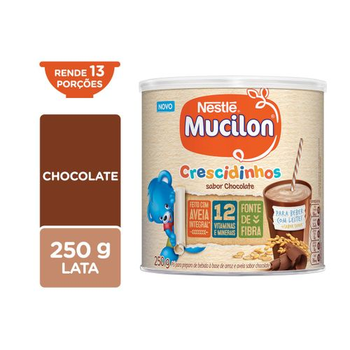 Cereal Infantil MUCILON Crescidinhos Chocolate