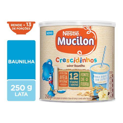 Cereal Infantil MUCILON Crescidinhos Baunilha 250g