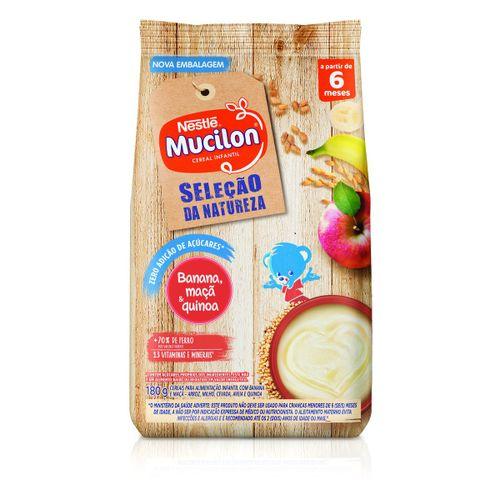 Cereal Infantil Mucilon Banana, Maçã E Quinoa 180g