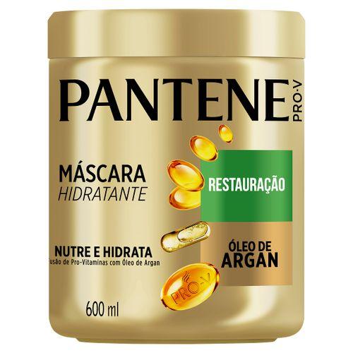 Creme Para Tratamento Pantene Restauração Óleo De Argan 600ml